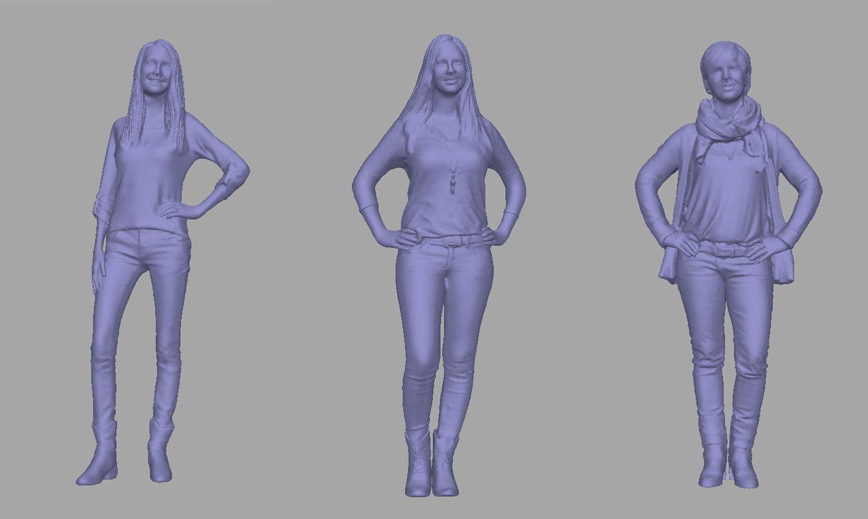 women backgrounds games model