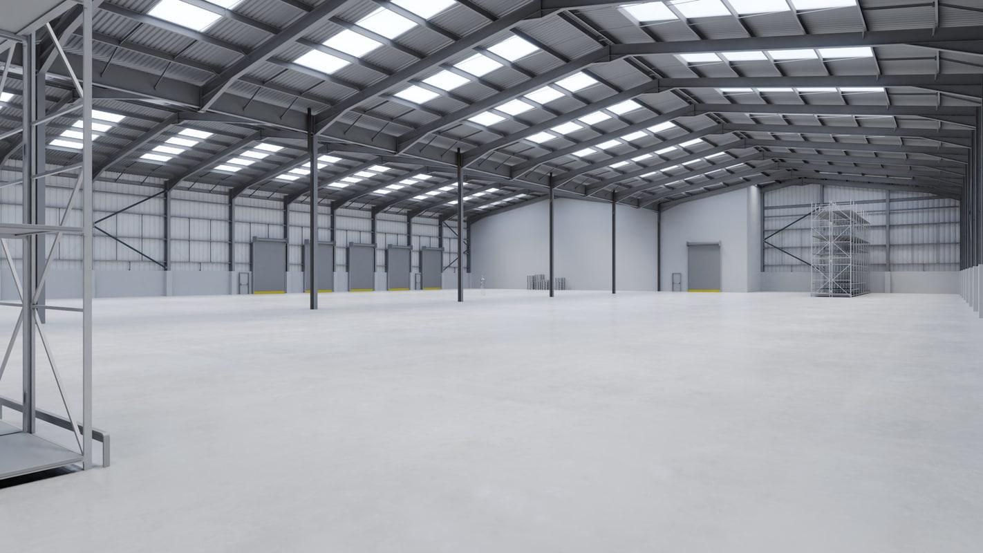 warehouse interior 12 model