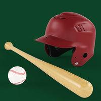 baseball set 3D model