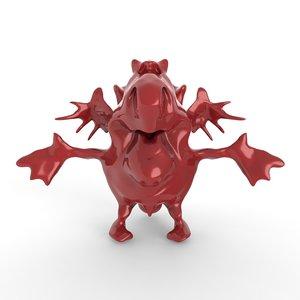 cartoon devil model