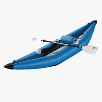 inflatable kayak k-air 3D model