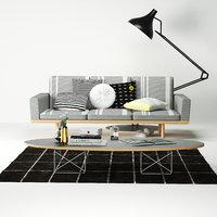 3D model sofa sofa