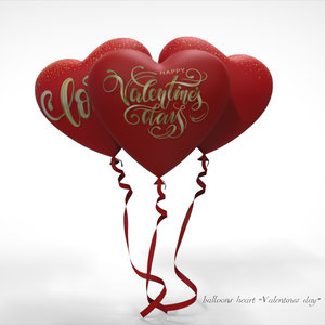 heart valentines day 3D