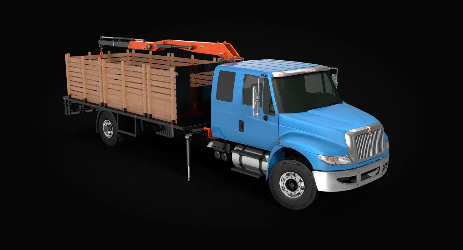durastar self loader truck model
