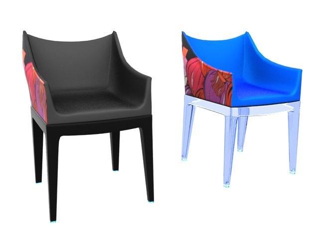 kartell madame pucci chair 3D