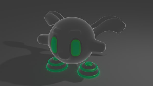 ball monster 3D model