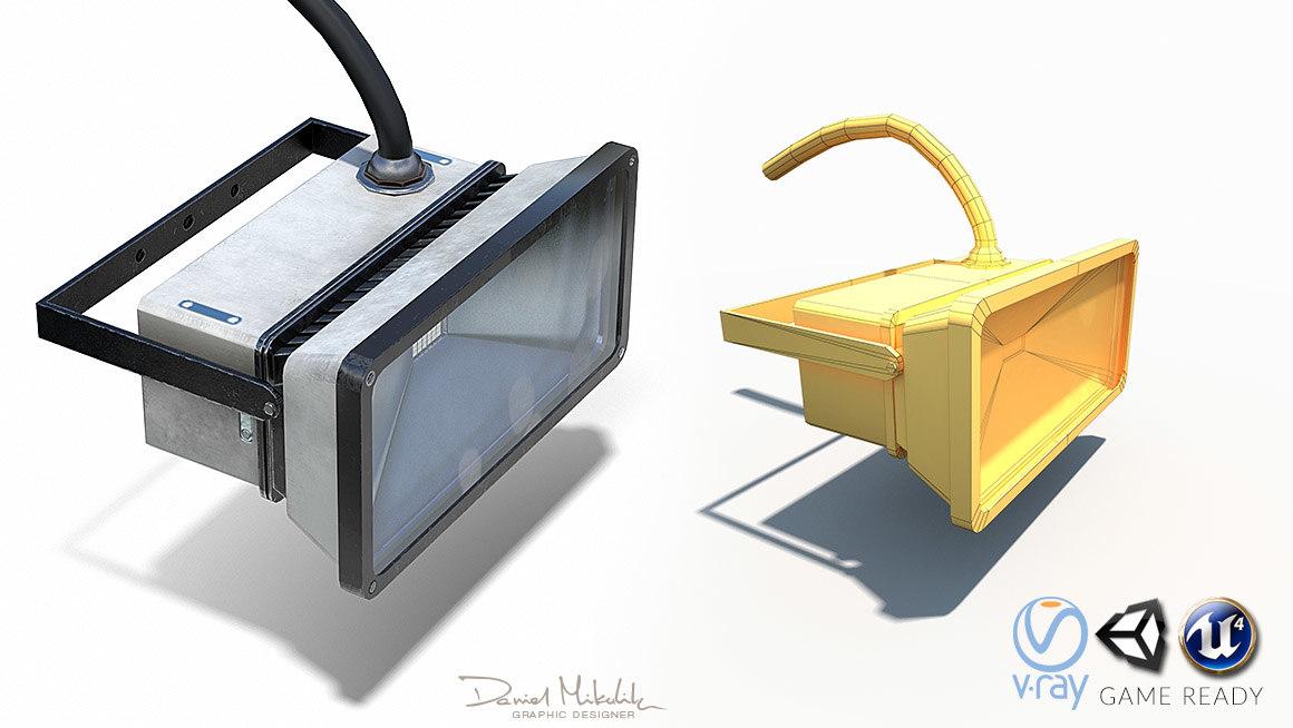 led halogen 3D
