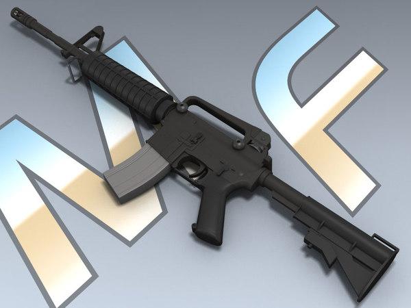 3D rifle colt firearms