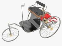 3D benz patent motorwagen