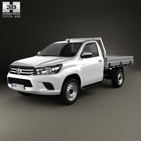 3D toyota hilux single
