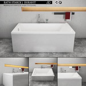 starck bath 3D model