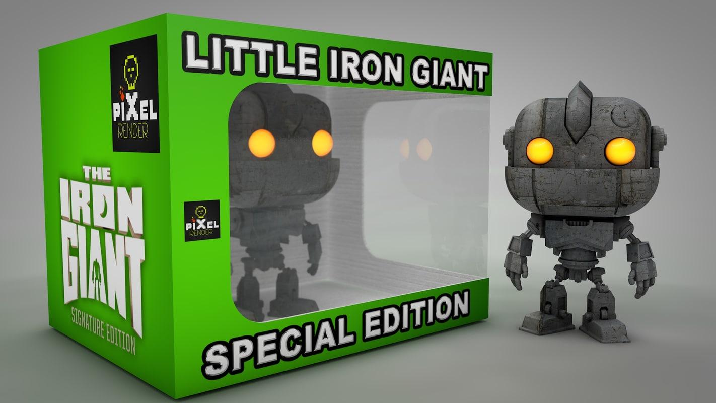 character editable lighting 3D