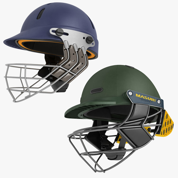 3D cricket helmet 01