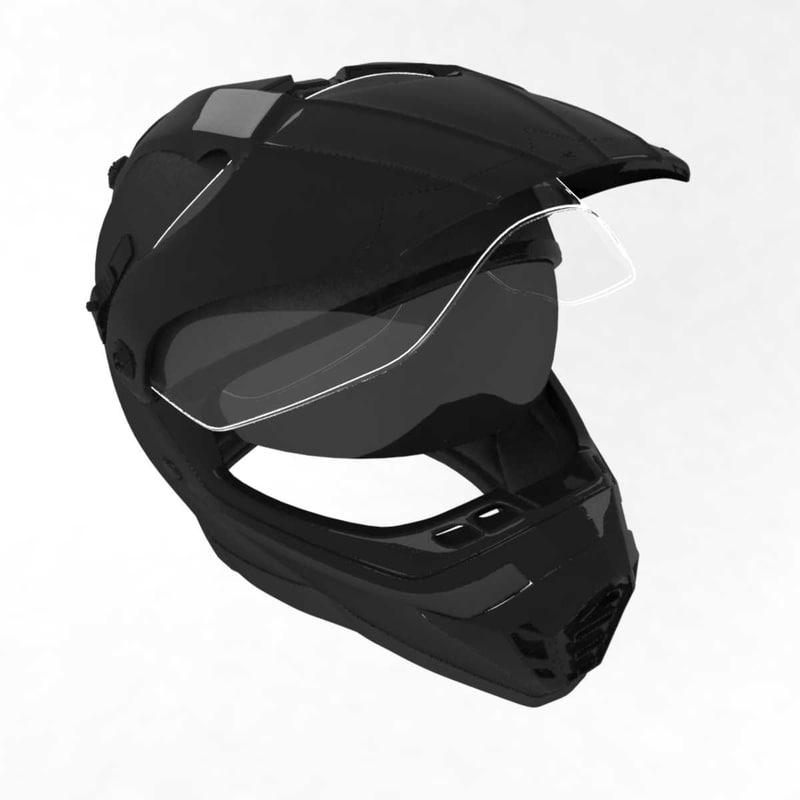 racing helmet 3D