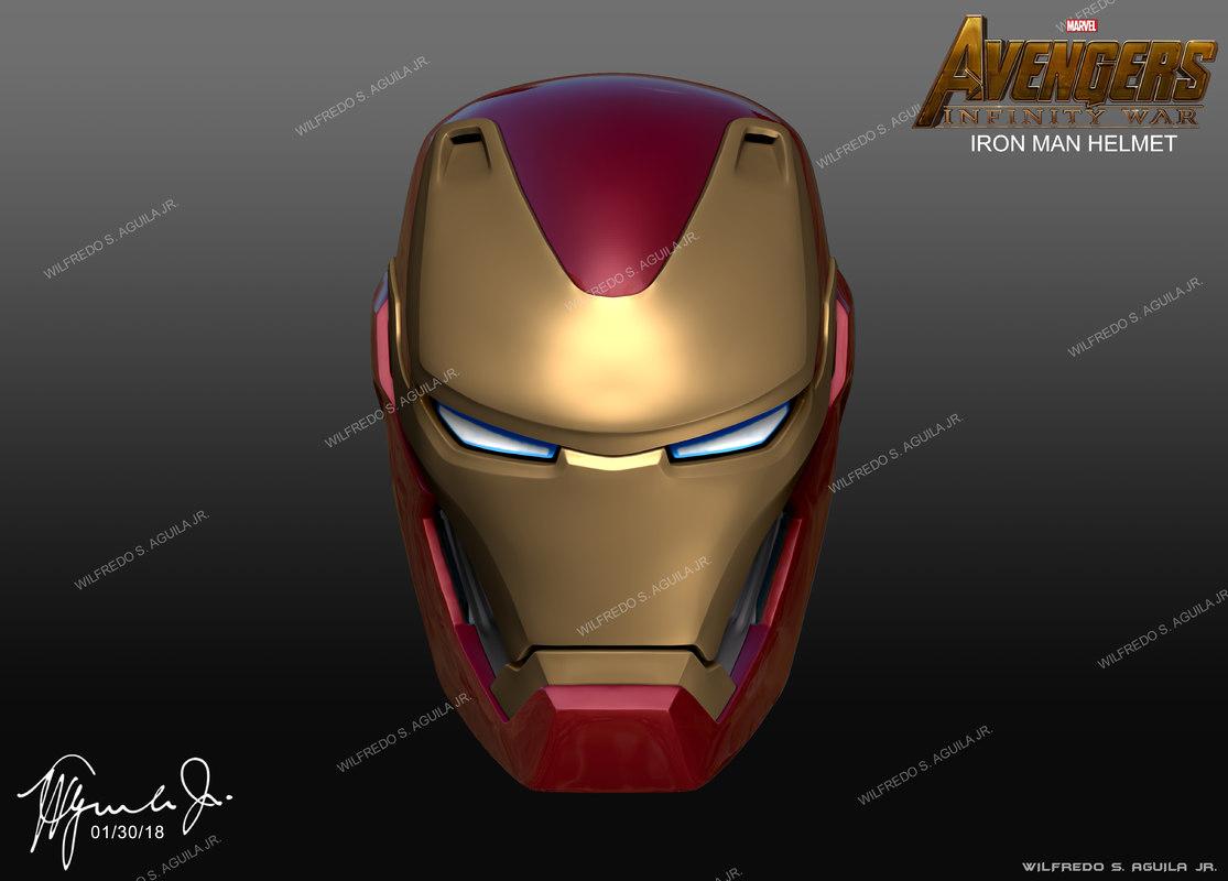 iron man infinity war helmet model