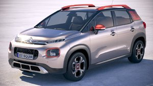 3D citroen c3 aircross model