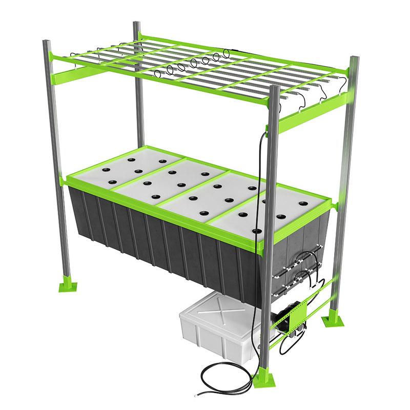 3D model modular aeroponic platform