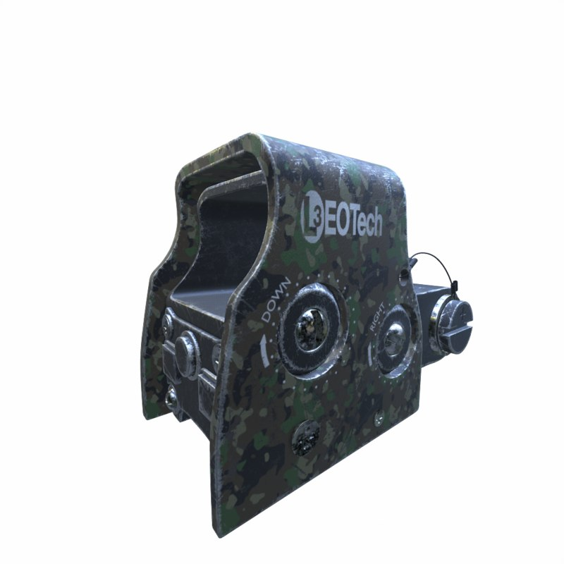 eotech holographic weapon sight 3D model