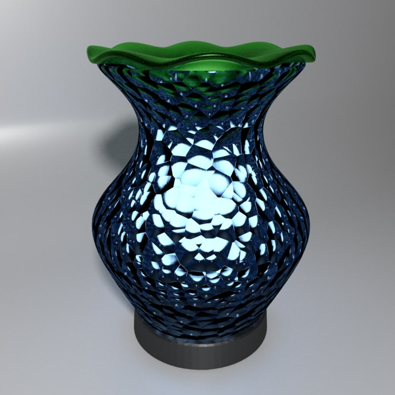 3D scented wax warmer