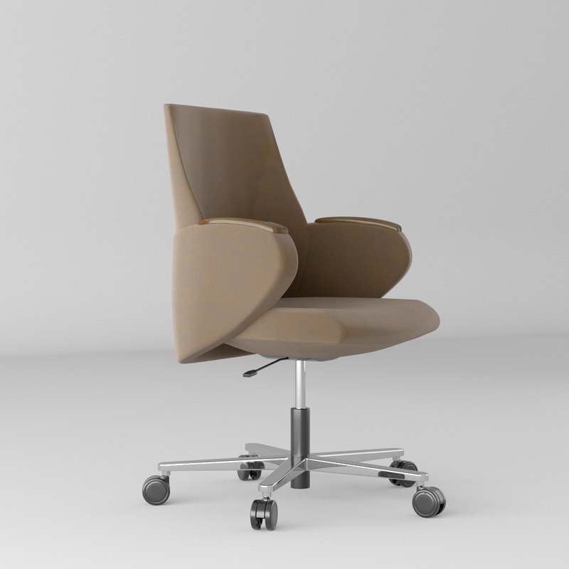 modern leather office chair model