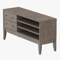 3D transitional console table