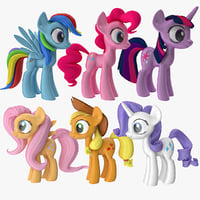 little ponie main characters max