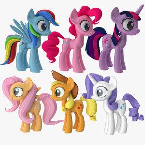 little ponie main characters max
