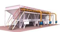 gas air cooling unit 3D model