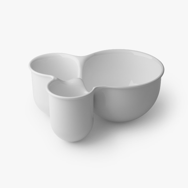 muuto vitamin bowl 3D model