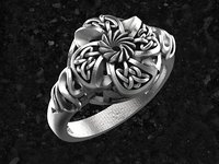ring celtic celtic-ring 3D model