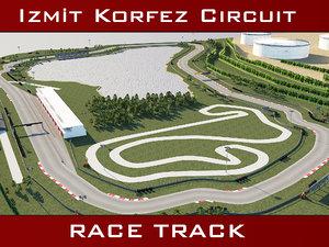 3D model race track - korfez