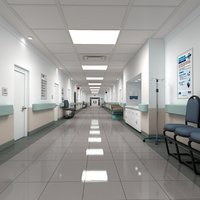 Hospital Hallway 2