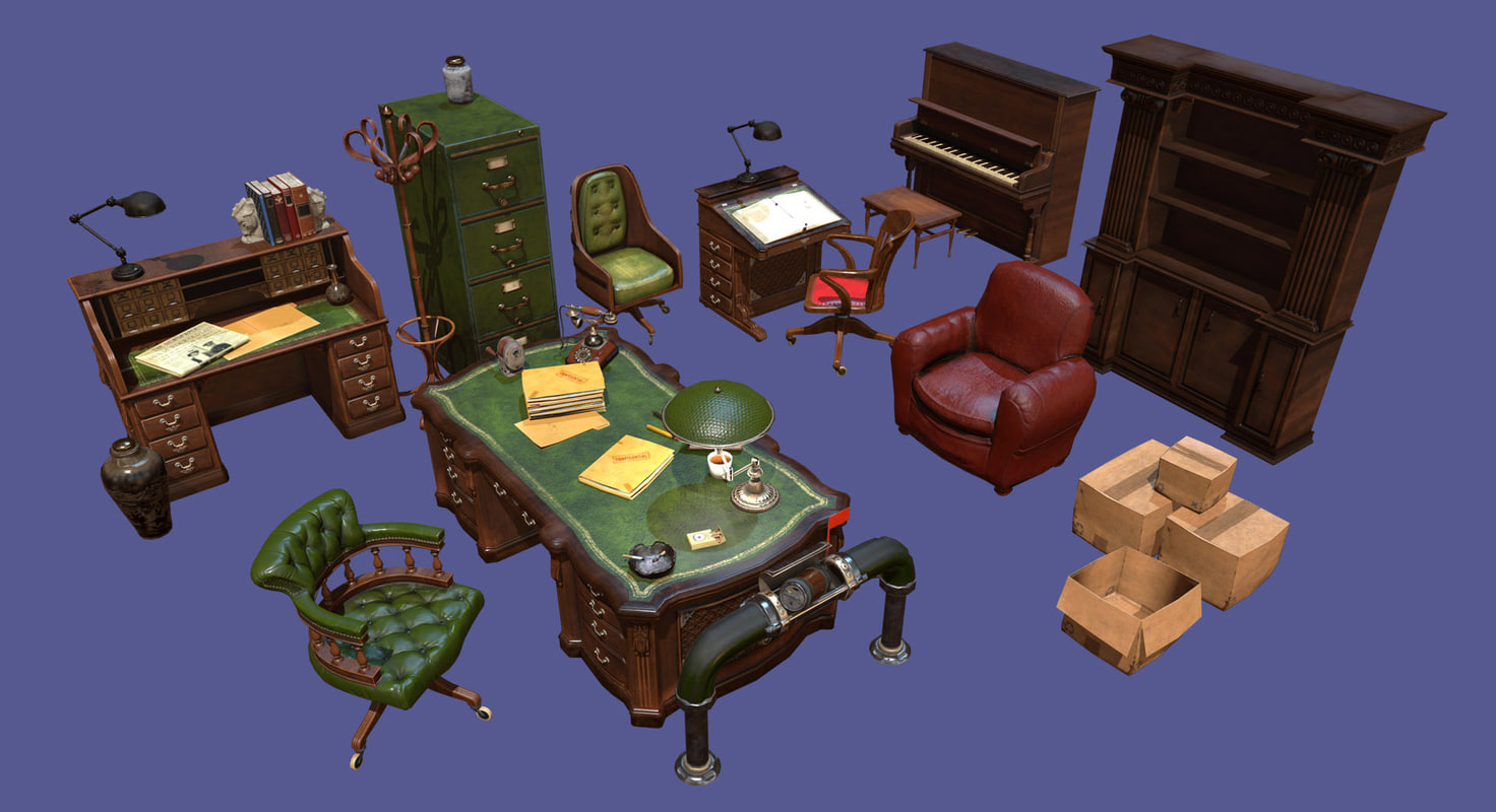 vintage office pack model