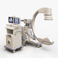 Medical GE C-Arm With Cart