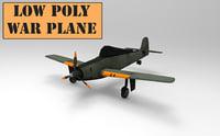 3D war plane model