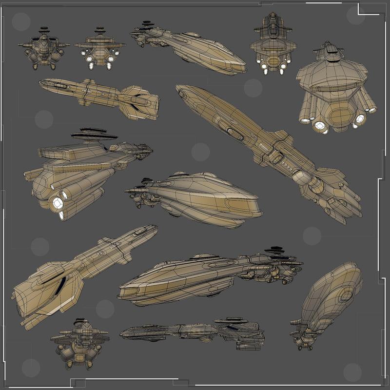 battlecruiser model