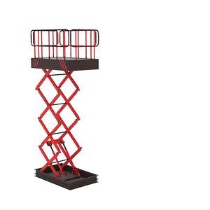 lift elevator hoist 3D model