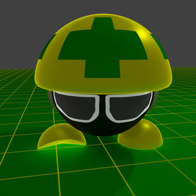 3D model mettaur megaman battle