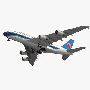 3D airbus a380m china southern