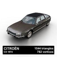 1974 citroen cx 3D model