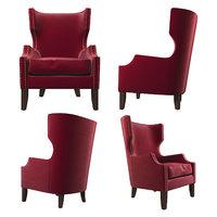 armchair alec 3D model