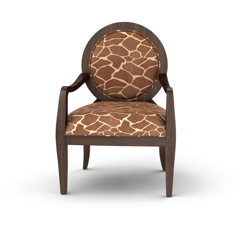 armchair chairs 3D model