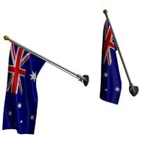 set flags model