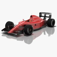generic formula 1 season 3D model