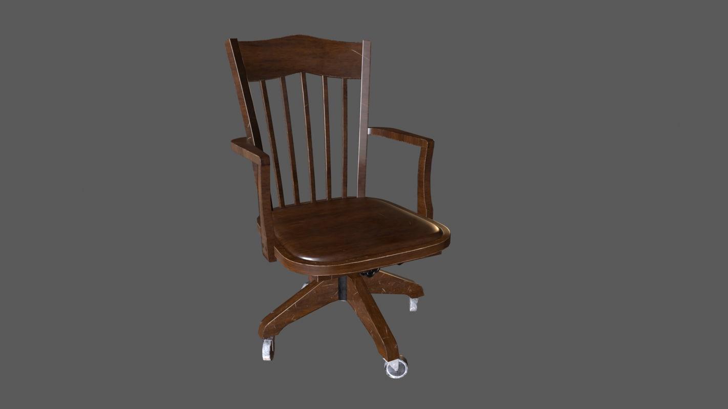 vintage s chair games 3D