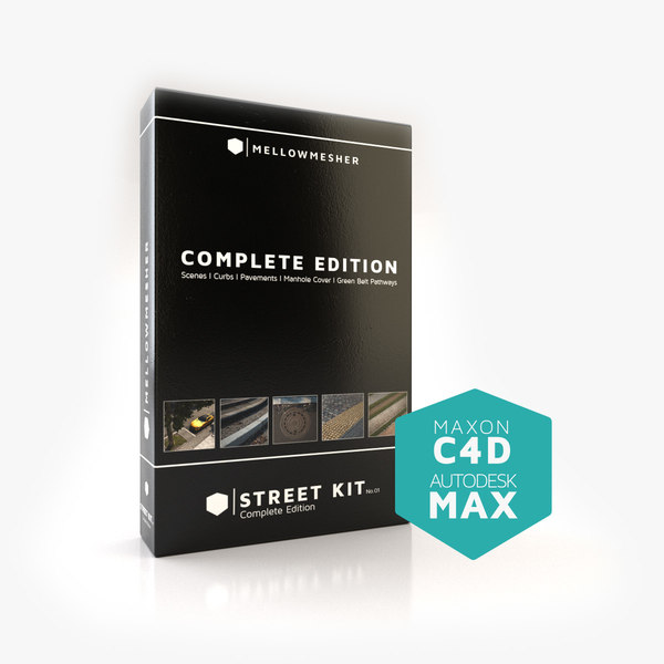 street kit 01 completely 3D