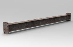 3D metal beam