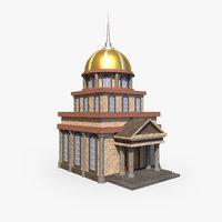 chapel ready 3D