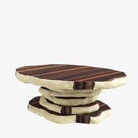 3D latza center table brabbu