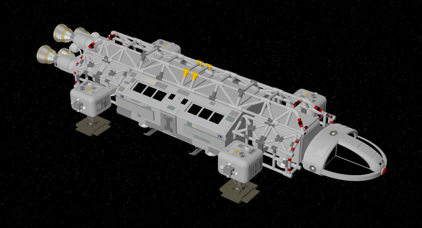 eagle transporter 1999 space 3D model